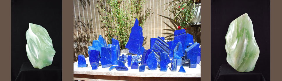 Lapis Sculptures
